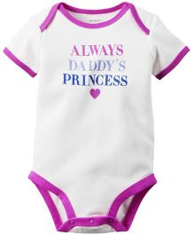 Carter's Daddy's Princess Bodysuit