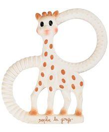 Sophie La Girafe So'Pure Organic Soft Teething Ring - White