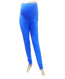 Uzazi Maternity Stretchable Leggings - Blue