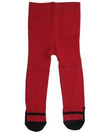 Babyoye Pointelle Stocking - Red