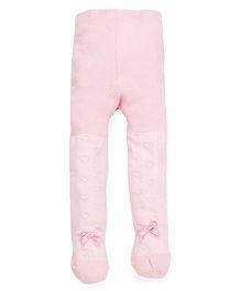 Babyoye Pointelle Stocking - Light Pink