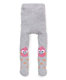 Babyoye Pointelle Stocking - Grey