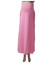 Uzazi A Line Maternity Skirt - Pink