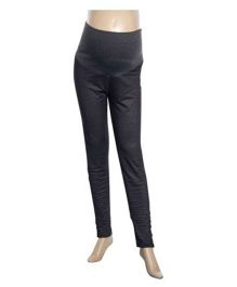 Uzazi Full Length Maternity Jeggings - Black