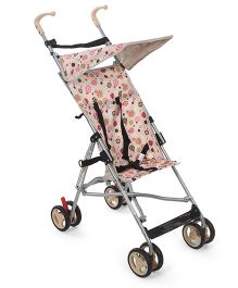 Cuddles and Strollers Lightweight Stroller Floral Print - Cream