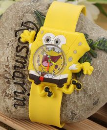 Aakriti Creations Trendy Cartoon Watch - Yellow
