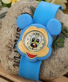 Aakriti Creations Cartoon Mouse Watch - Blue