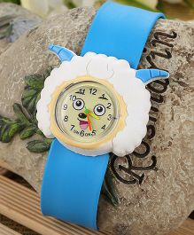 Aakriti Creations Cute Sheep Shaped Watch - Blue