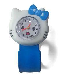 Aakriti Creations Cute Kitty Watch - Blue