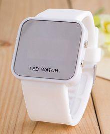 Aakriti Creations Smart Digital Watch - White