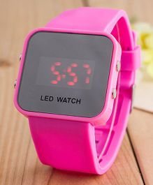 Aakriti Creations Smart Digital Watch - Pink