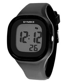 Aakriti Creations Digital Watch With Night Light & Alarm - Black