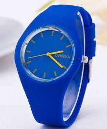 Aakriti Creations Smart & Elegant Analog Watch - Royal Blue