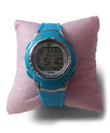 Aakriti Creations Trendy Digital Watch - Light Blue