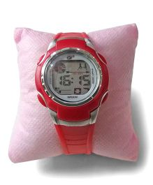 Aakriti Creations Trendy Digital Watch - Red