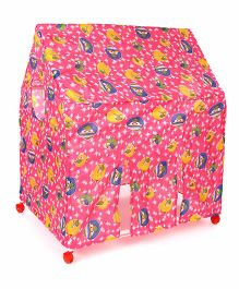 Lovely Play Tent House Star Print - Pink