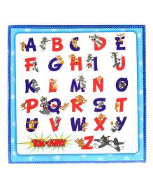 Tom and Jerry My First 2 In 1 Write & Wipe And Learning Board - Blue & White