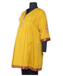 Nursing Kurta - Yellow