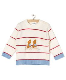 Zonko Style Knitted Sweater - Off White