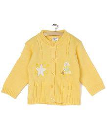 Zonko Style Knitted Sweater - Yellow