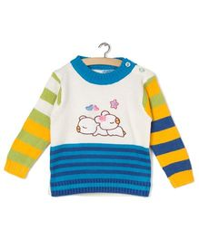 Zonko Style Knitted Sweater - Multicolour