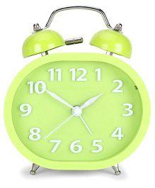 Rectangular Shaped Alarm Clock - Green
