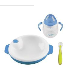 Nuvita Weaning Set Blue - 3 Pieces