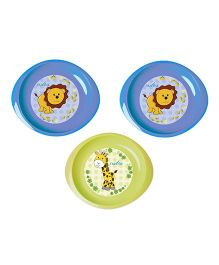 Nuvita Set 3 Dishes - Blue Green