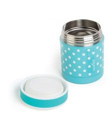 Nuvita Stainless Steel Thermal Food Container Blue - 350 ml