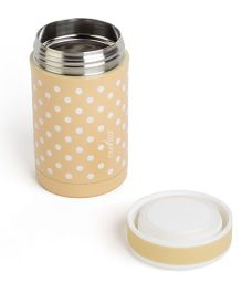 Nuvita Stainless Steel Thermal Food Container Brown - 500 ml