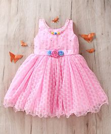 M'Princess Frill Dress - Pink