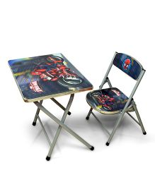 Ramson Spiderman Table And chair- Blue