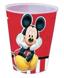 Ramson Mickey Small 3D Cup Red - 400 ml