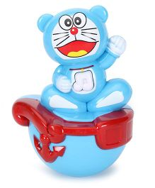 Playmate Puzzle Cat Roly Poly Toy - Blue Red