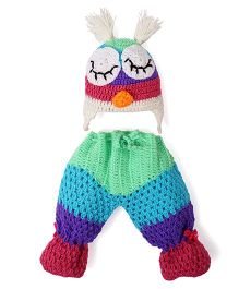Mayra Knits Owl Prop Set - Multicolor