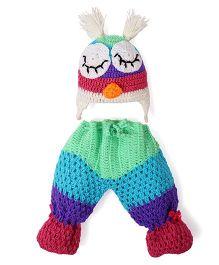 Mayra Knits Owl Prop Set - Multicolor