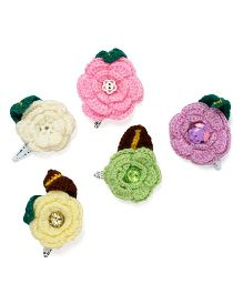 Mayra Knits Hair Clip Collection - Multicolor