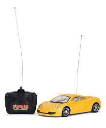 Playmate Remote Controlled Luxury Car - Yellow