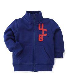 UCB Full Sleeves Sweatjacket - Blue