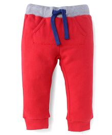 UCB Full Length Track Pants - Red
