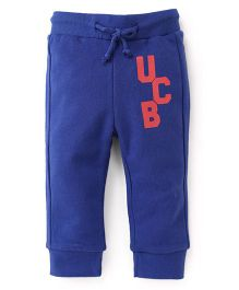 UCB Full Length Track Pants - Blue
