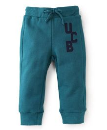 UCB Full Length Track Pants - Green