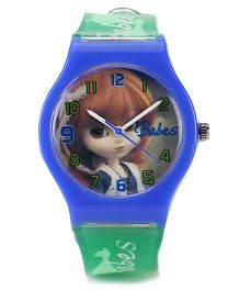 Fantasy World Analog Wrist Watch - Blue Green