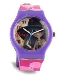 Fantasy World Analog Wrist Watch - Purple & Pink