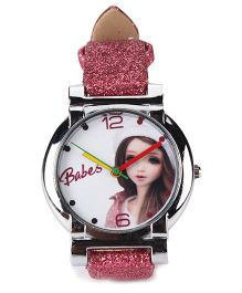 Fantasy World Analog Wrist Watch - Red