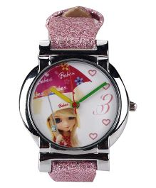 Fantasy World Analog Wrist Watch - Pink