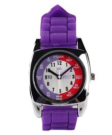 Fantasy World Analog Wrist Watch - Purple