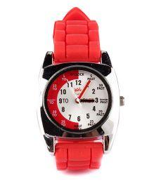Fantasy World Analog Wrist Watch - Red & White
