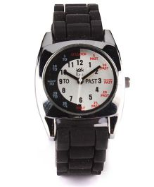 Fantasy World Analog Wrist Watch - Black & White