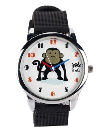 Fantasy World Analog Wrist Watch - Black